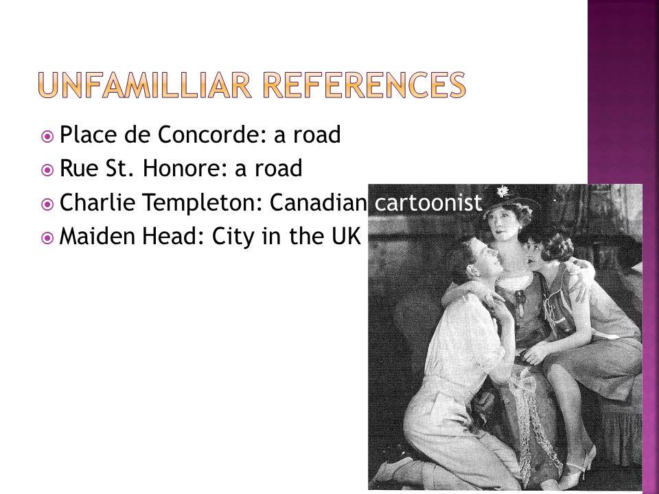  Place de Concorde: a road  Rue St.