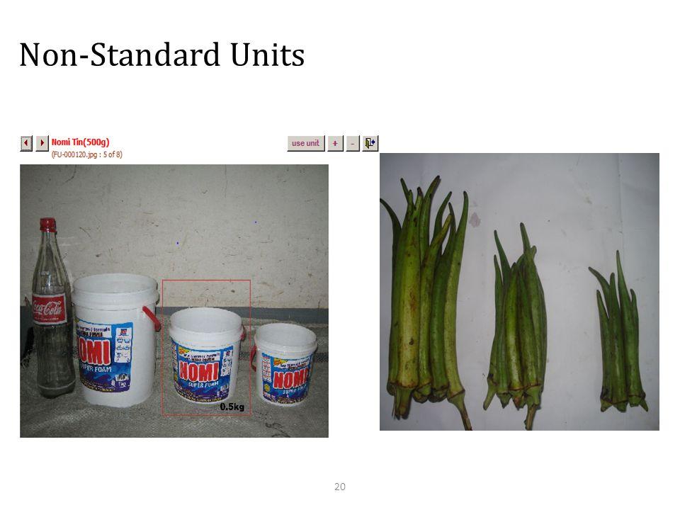 Non-Standard Units 20