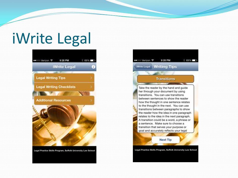 iWrite Legal