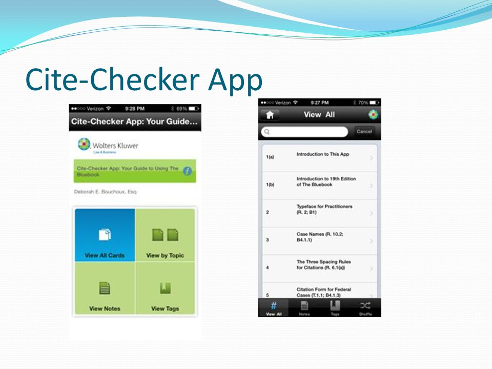 Cite-Checker App