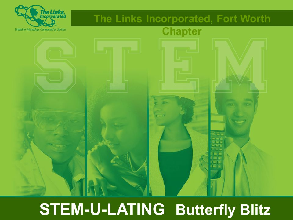 The Links Incorporated, Fort Worth Chapter STEM-U-LATING Butterfly Blitz