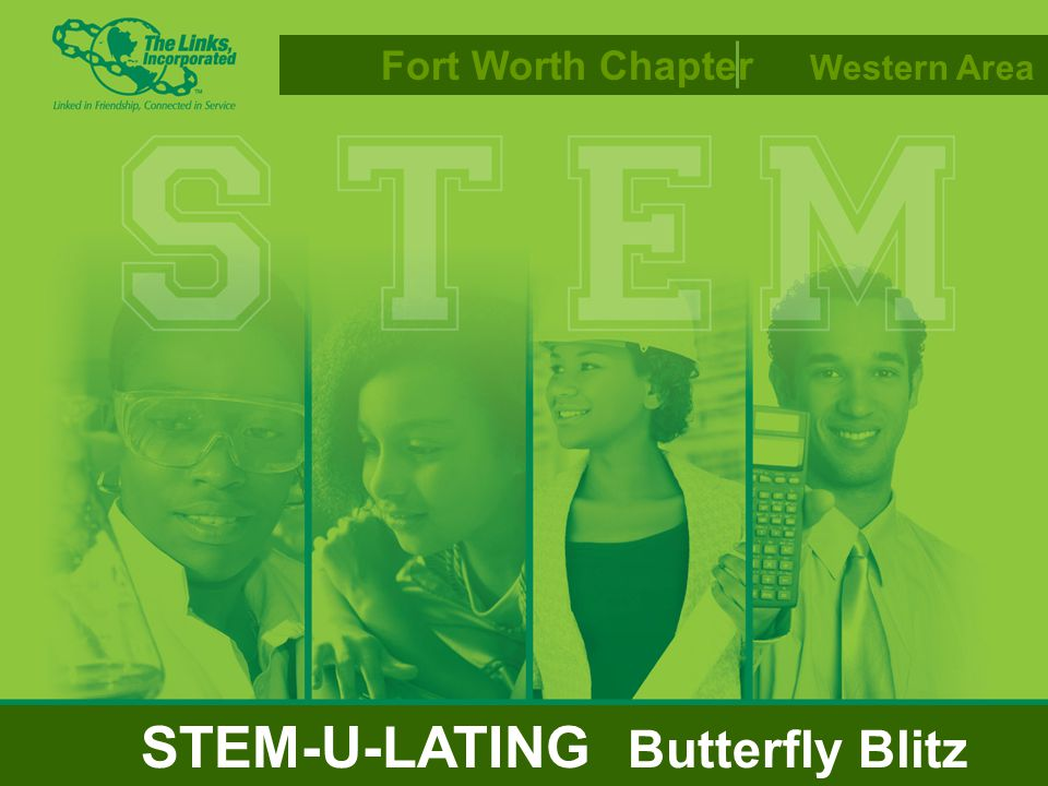 Fort Worth Chapter Western Area STEM-U-LATING Butterfly Blitz