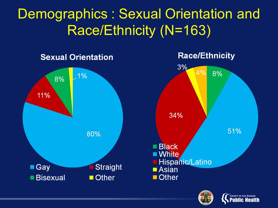 Demographics : Sexual Orientation and Race/Ethnicity (N=163)