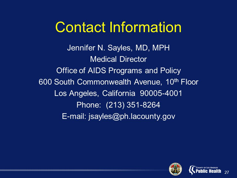 Contact Information Jennifer N.