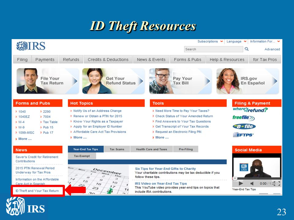 ID Theft Resources 23
