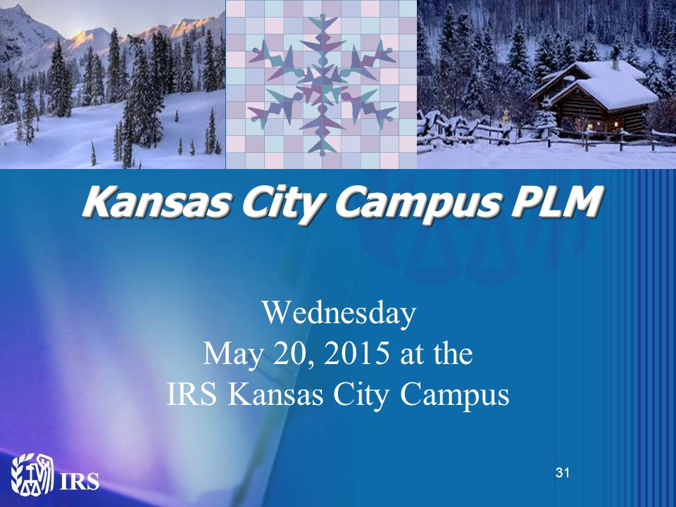 Kansas City Campus PLM Wednesday May 20, 2015 at the IRS Kansas City Campus 31