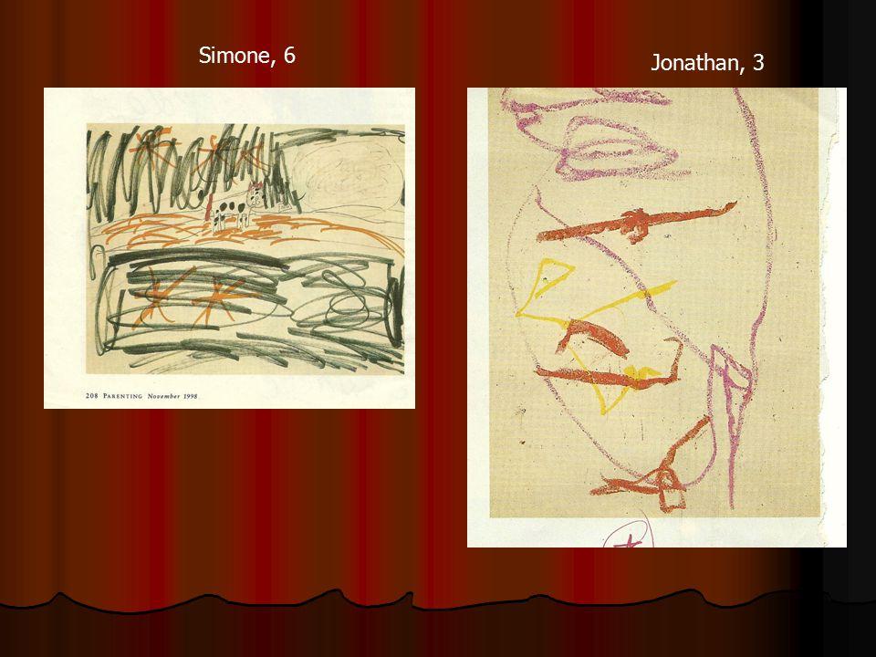 Jonathan, 3 Simone, 6