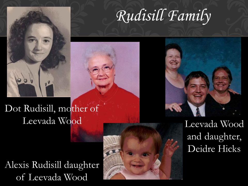 Fulbright Family Rosa Fulbright, mother of Mattie Stuart Mattie Stuart and daughter Robin Stuart Robin Stuart and daughter Cynthia Purcelle