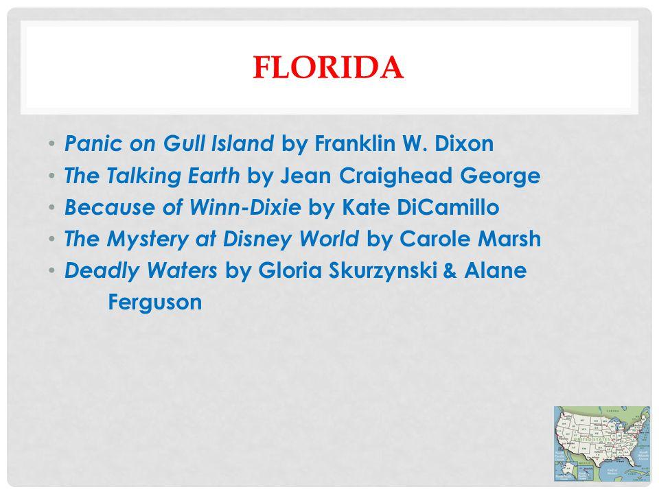 FLORIDA Panic on Gull Island by Franklin W.