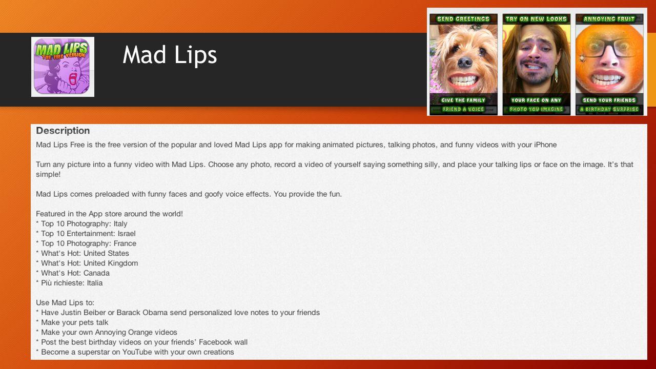 Mad Lips