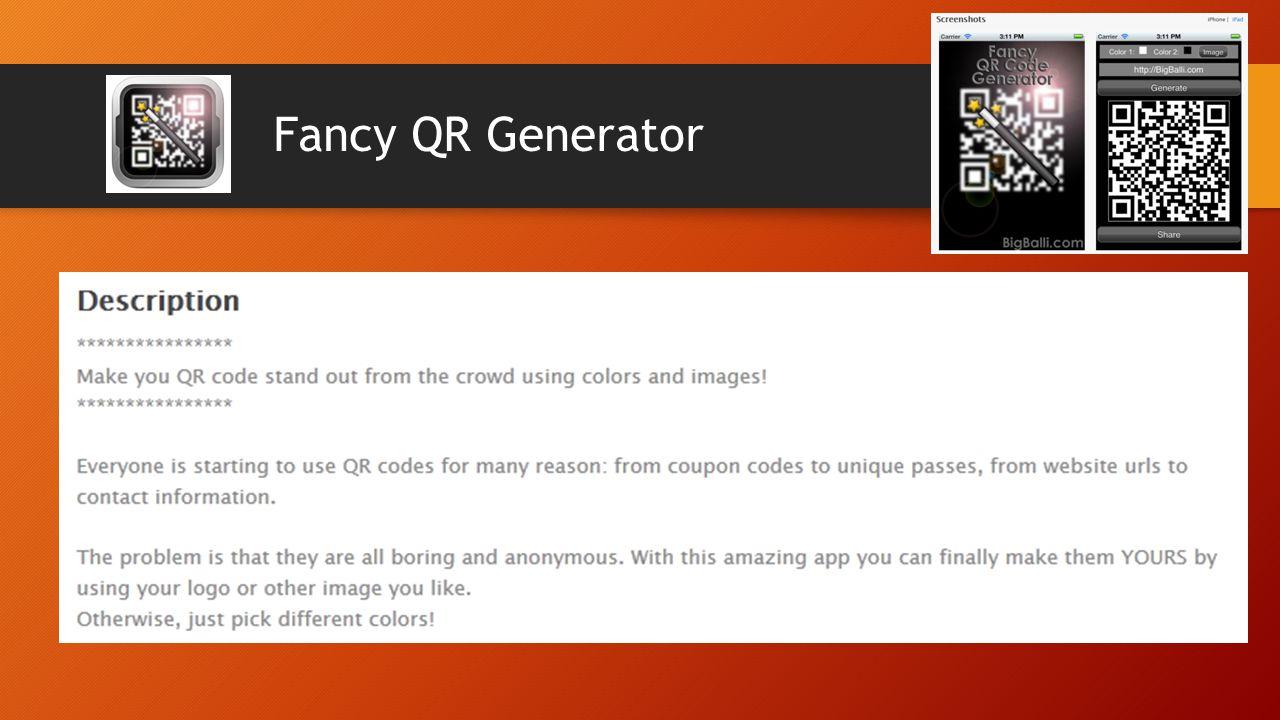 Fancy QR Generator