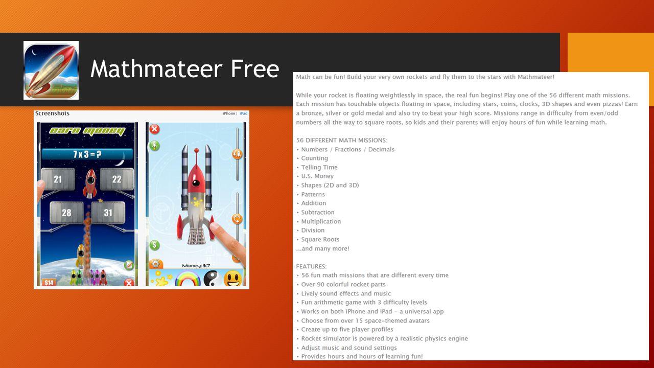 Mathmateer Free