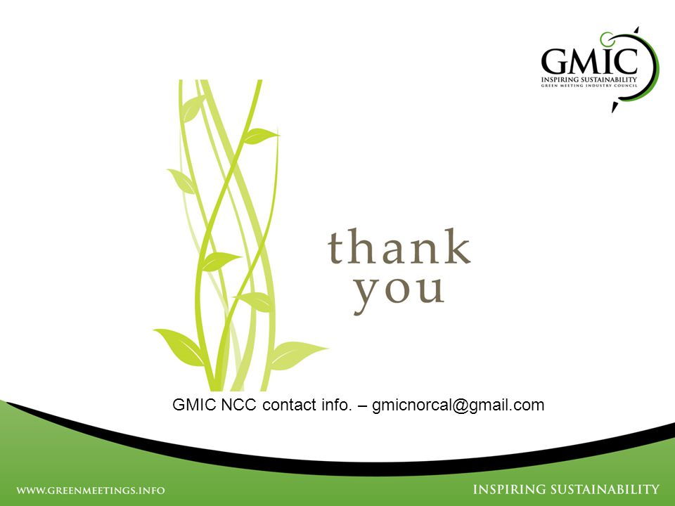 GMIC NCC contact info. – gmicnorcal@gmail.com
