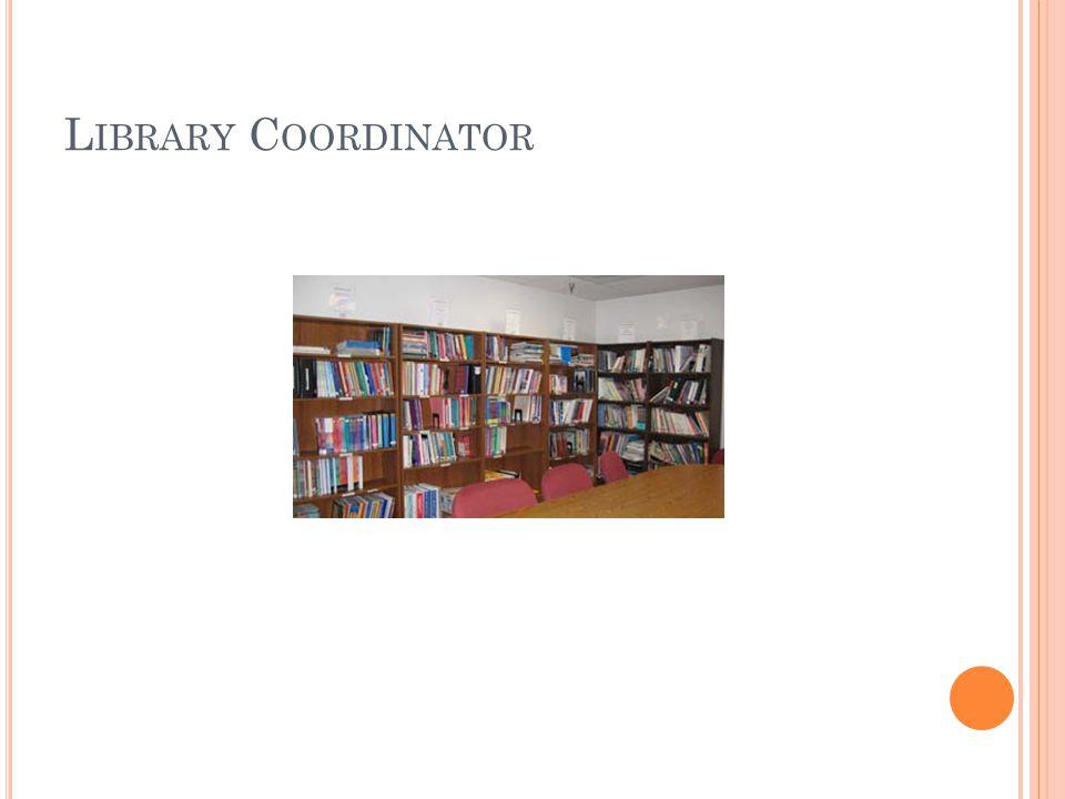 L IBRARY C OORDINATOR