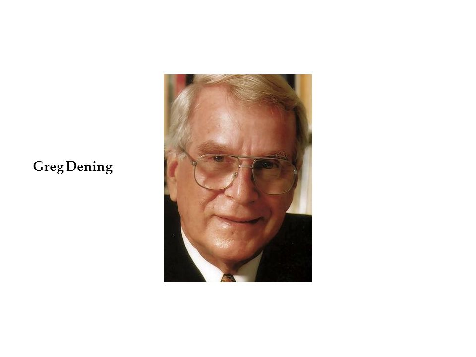 Greg Dening