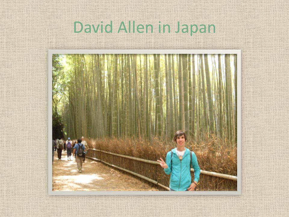David Allen in Japan