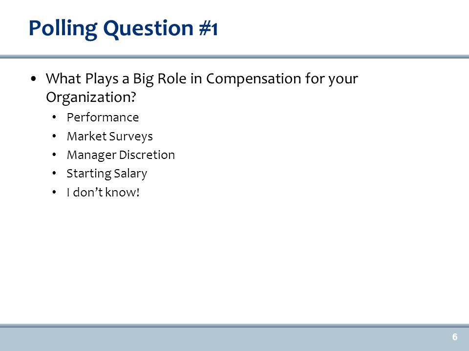 The Legal Framework for Evaluating Compensation Discrimination 7