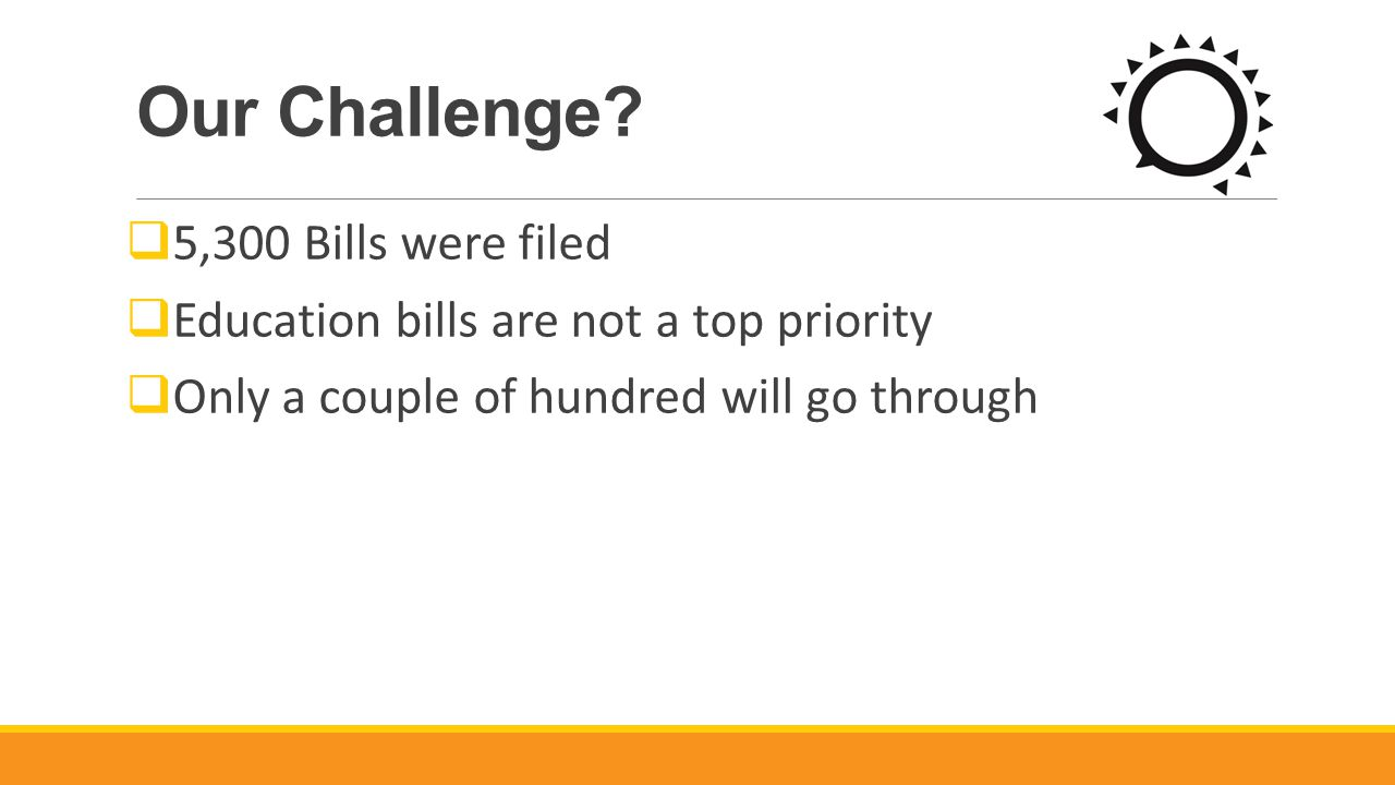 Our Challenge.