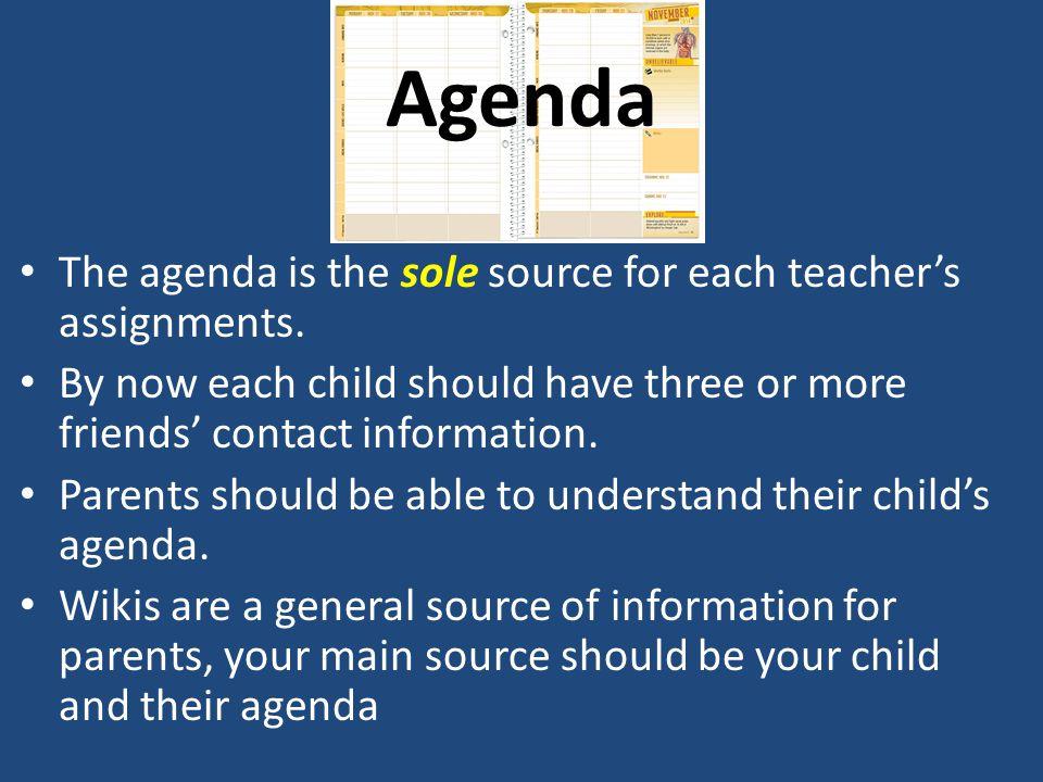 Black Folders/Portfolio Black Folders are the primary communication method between home and school.