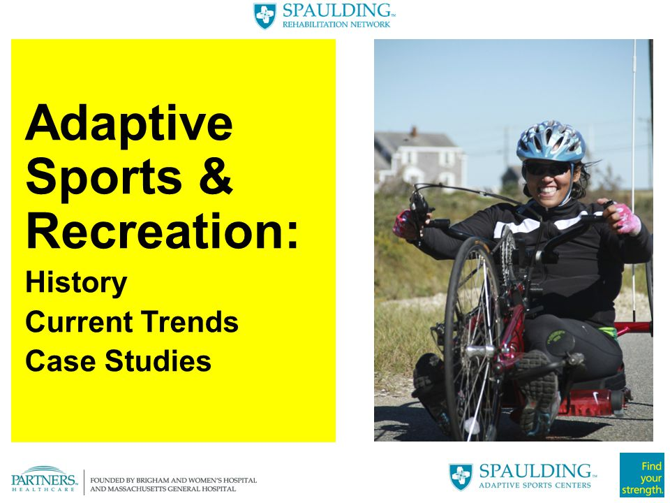 Improved confidence and self-esteem not related to frequency of participation Even a single session with SASC Boston may have a positive emotional impact on an individual Intangibles: Independence & Empowerment Adaptive Sports: Emotional Benefits