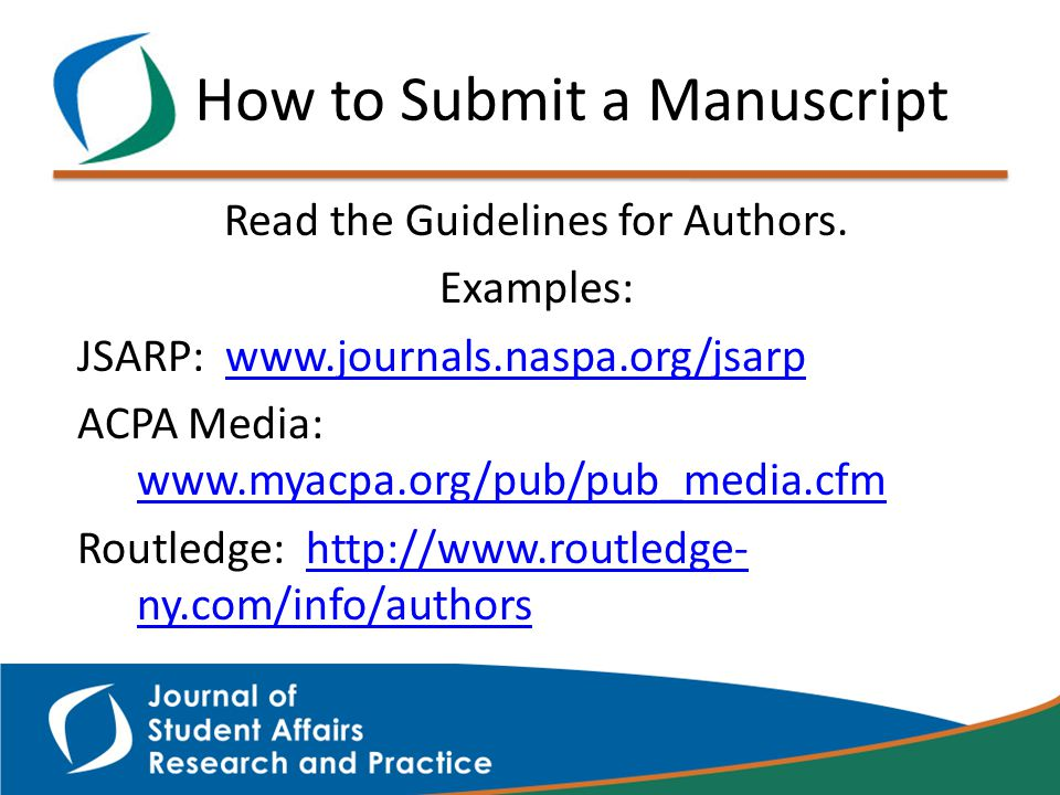 Read the Guidelines for Authors.