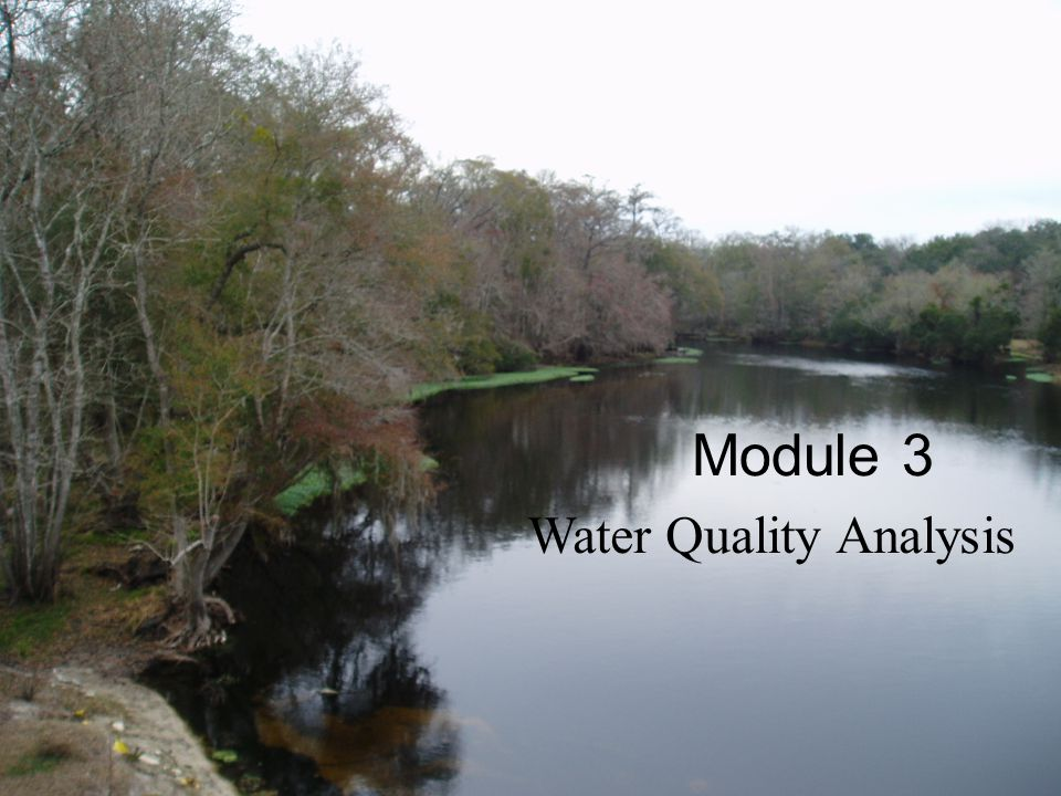 Water Quality Analysis Module 3