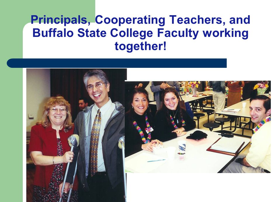 Cooperatively supervise teacher candidates and provide closer connections to classroom practice Promote professional development for in- service teachers Improve P-6 student learning Research issues of educational practice