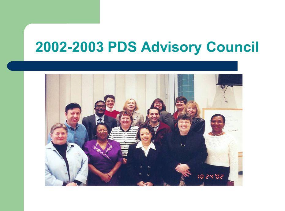 2002-2003 PDS Advisory Council