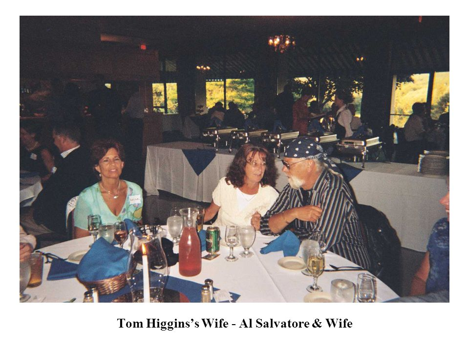 Tom Higgins's Wife - Al Salvatore & Wife