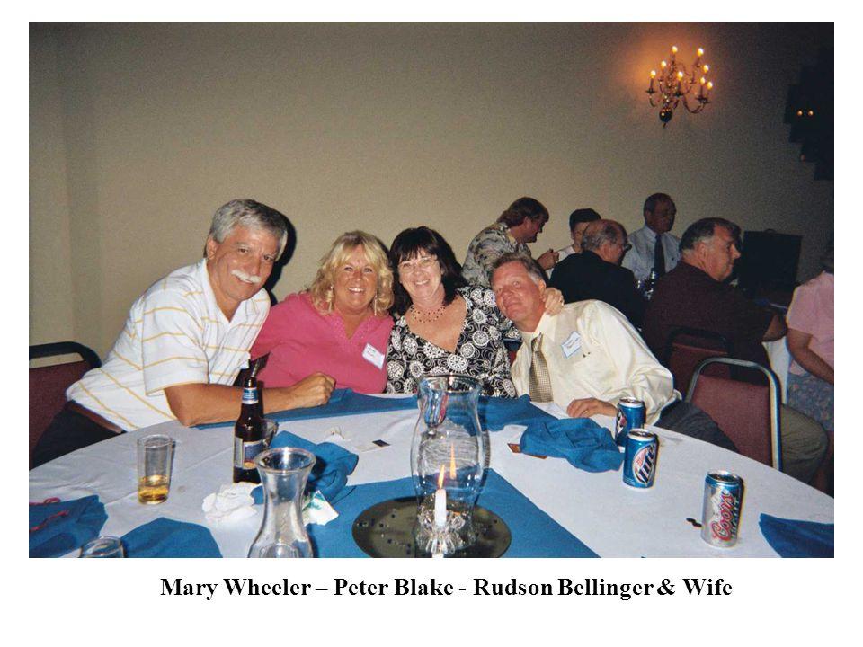 Mary Wheeler – Peter Blake - Rudson Bellinger & Wife