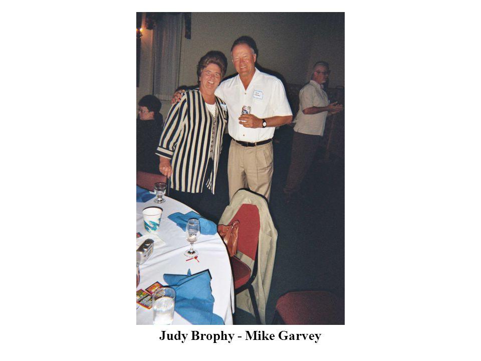 Judy Brophy - Mike Garvey