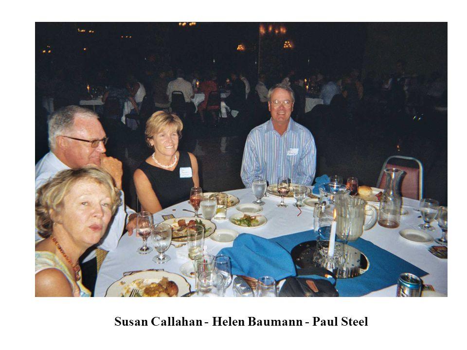 Susan Callahan - Helen Baumann - Paul Steel