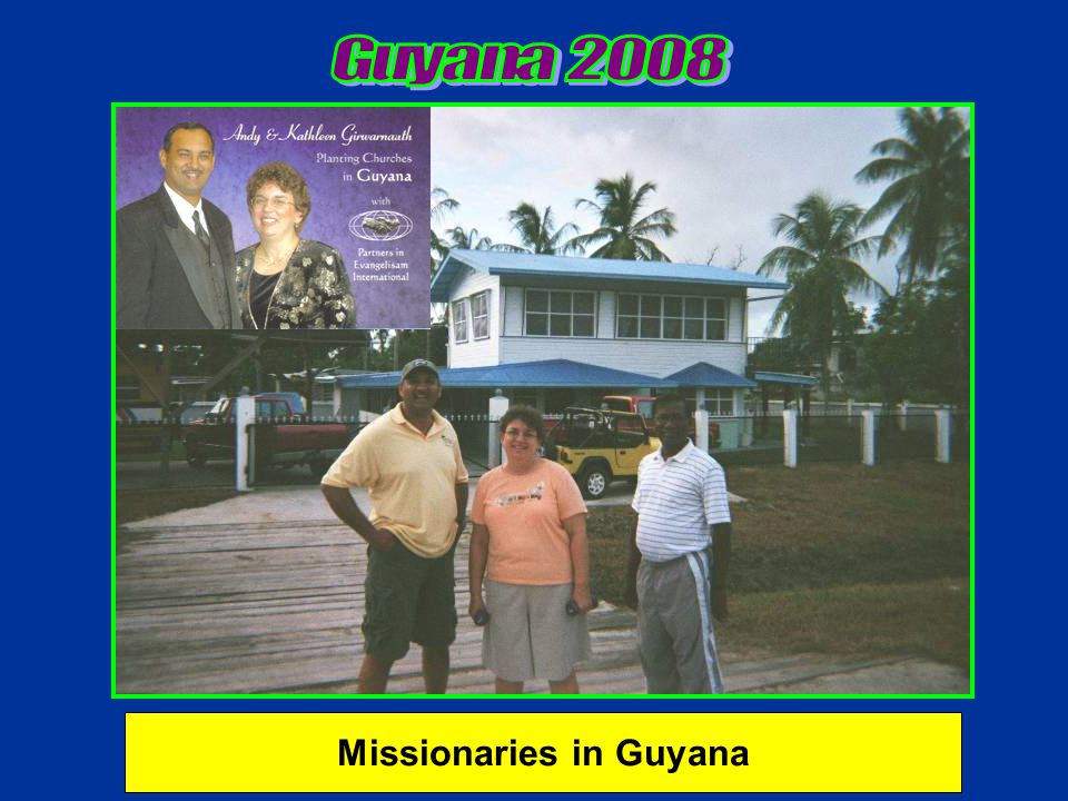 Missionaries in Guyana
