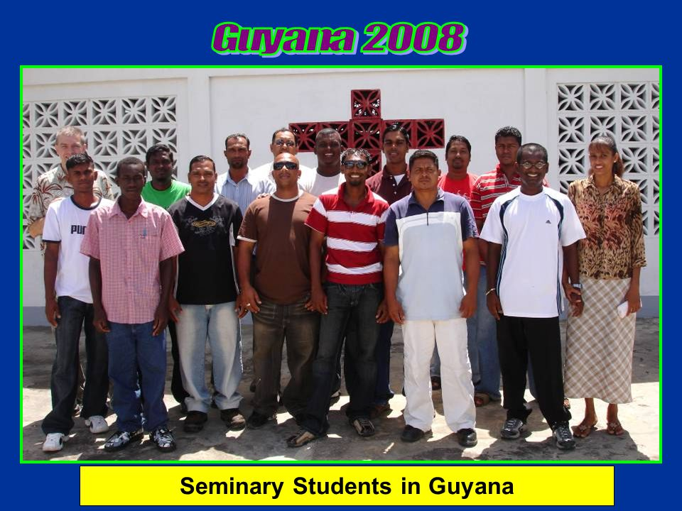 Seminary Students in Guyana