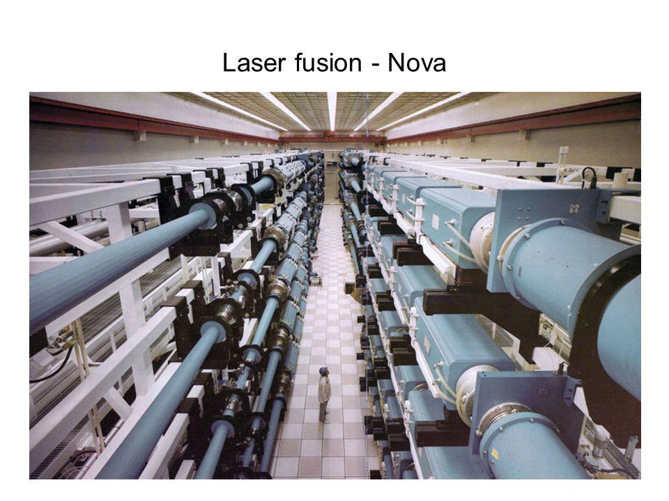 Laser fusion - Nova