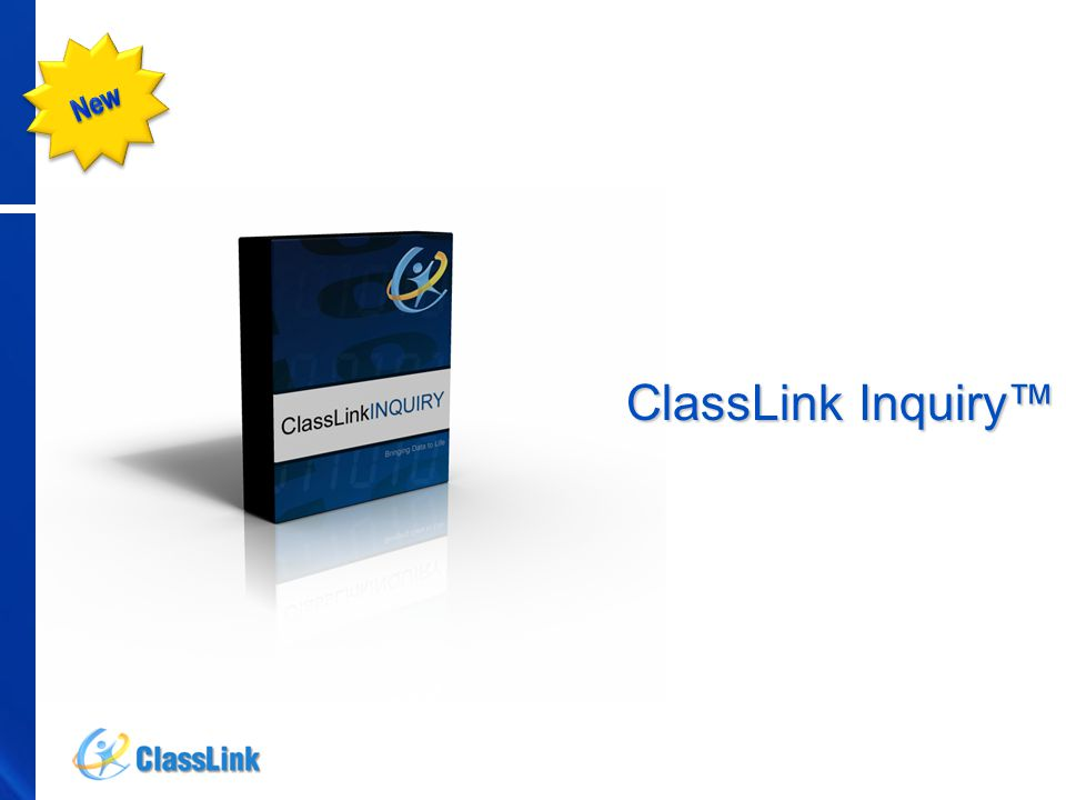 ClassLink Inquiry™