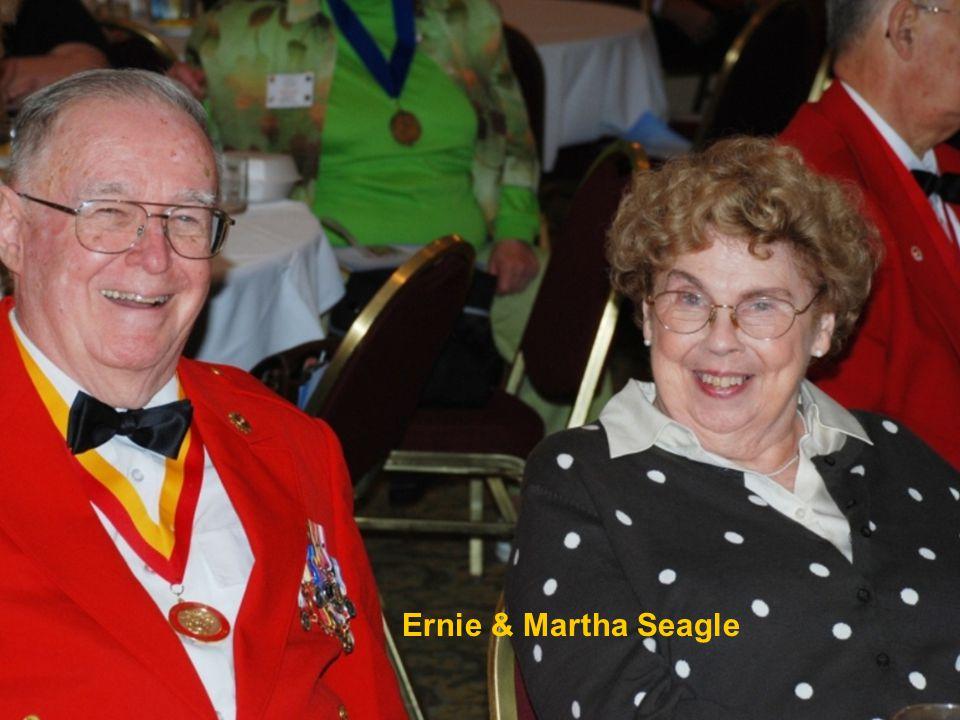 Ernie & Martha Seagle