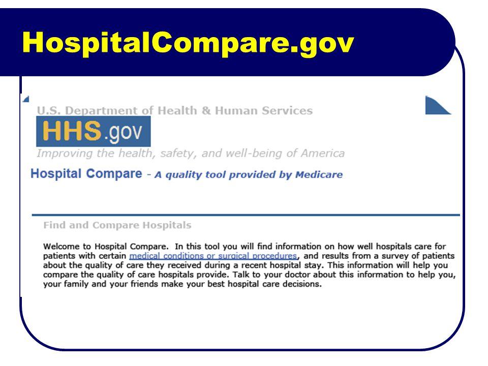 HospitalCompare.gov
