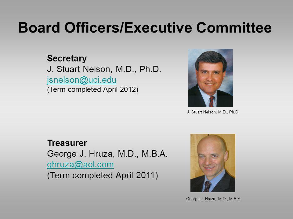 Secretary J. Stuart Nelson, M.D., Ph.D.