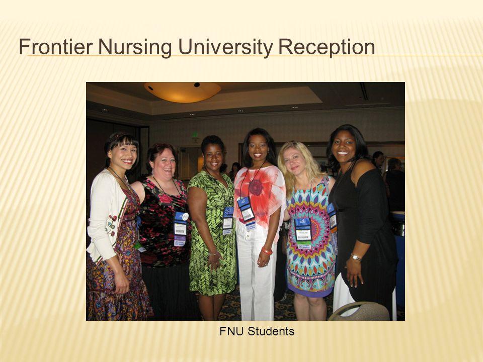 Frontier Nursing University Reception FNU Students