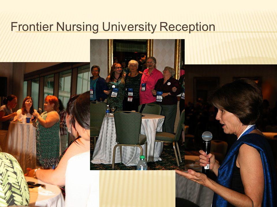 Frontier Nursing University Reception