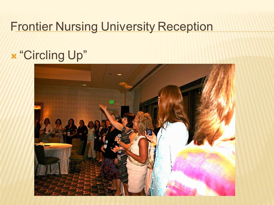 Frontier Nursing University Reception  Circling Up