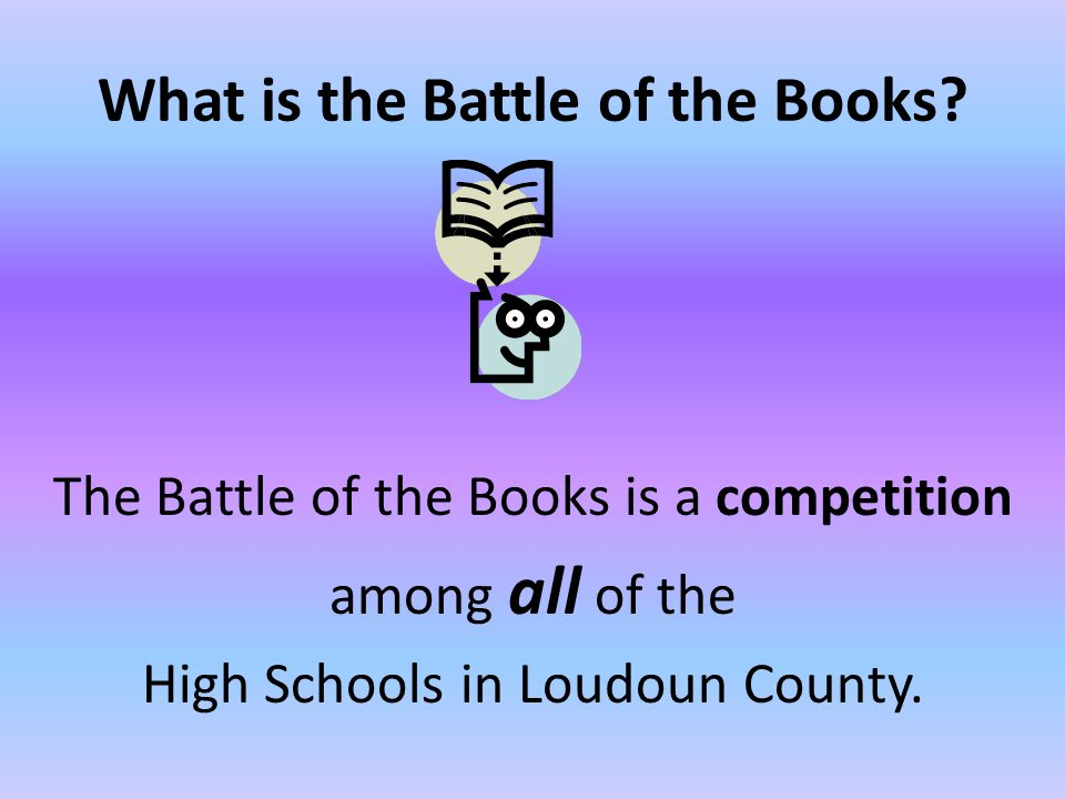 Students engage in a battle of the wits by answering trivia questions about the 10 books selected for the battle.