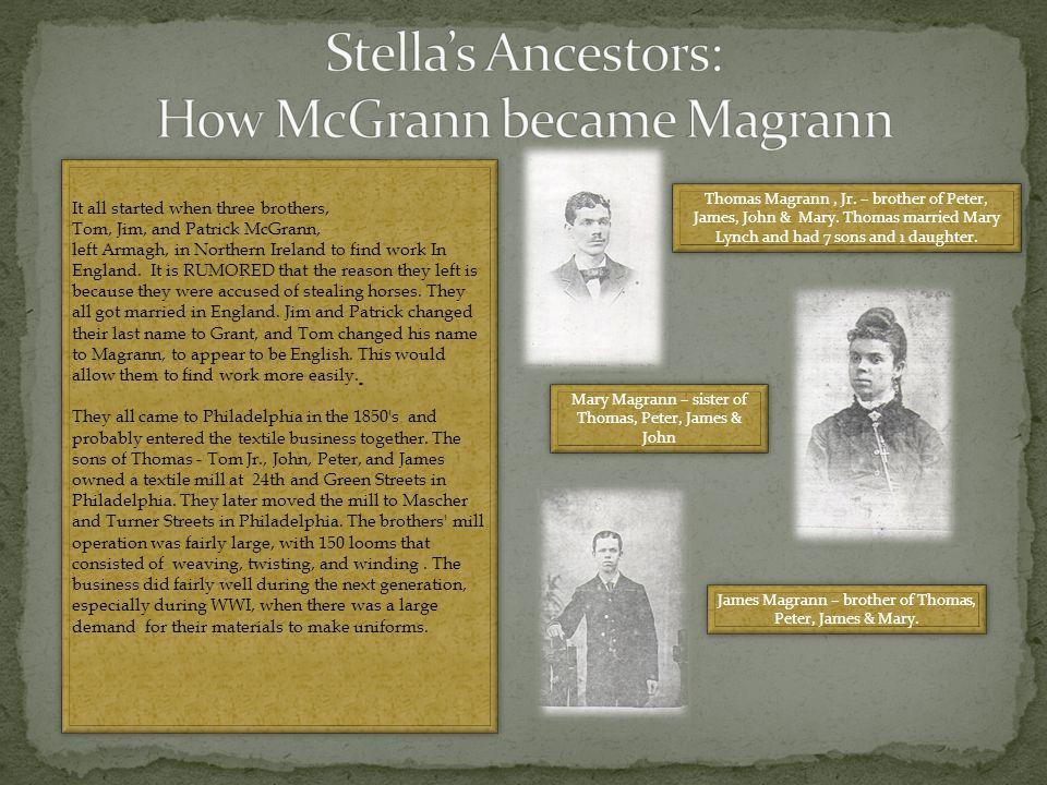 John J. Dougherty & Stella Marie (nee Magrann) Dougherty