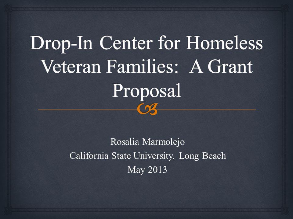 Rosalia Marmolejo California State University, Long Beach May 2013