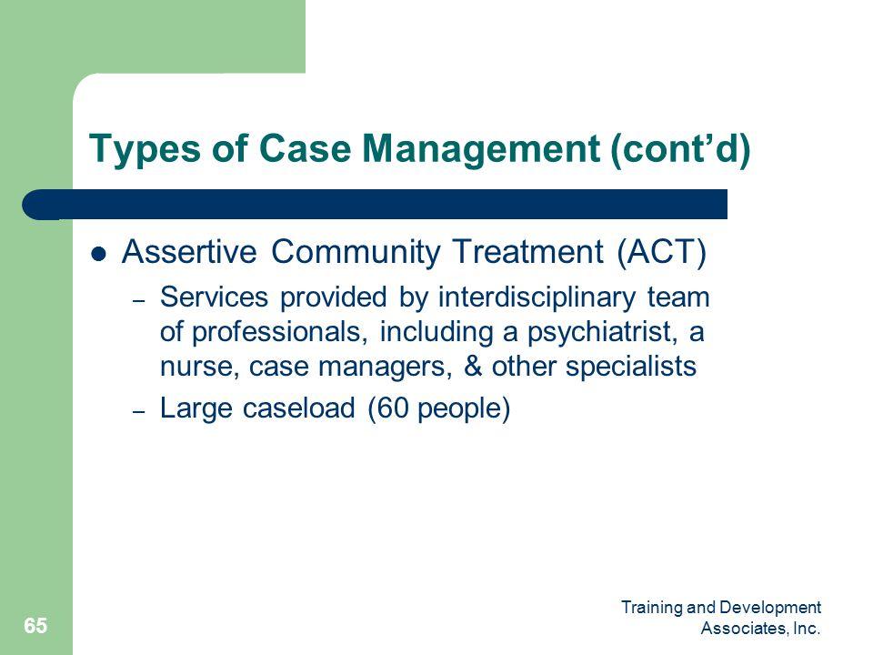 Training and Development Associates, Inc.