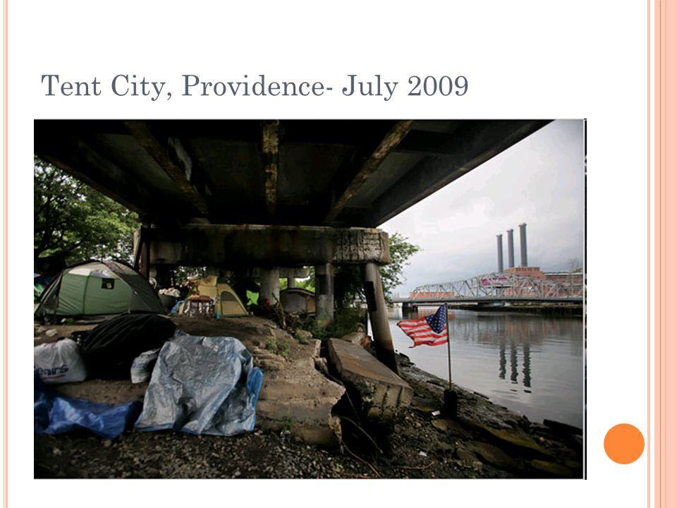 Tent City, Providence- July 2009
