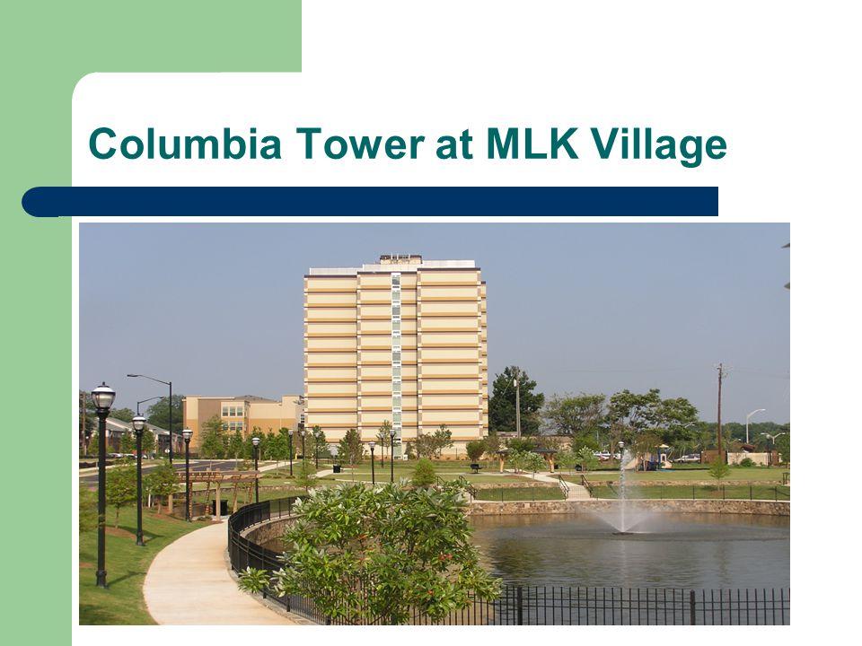 Columbia Tower at MLK Village