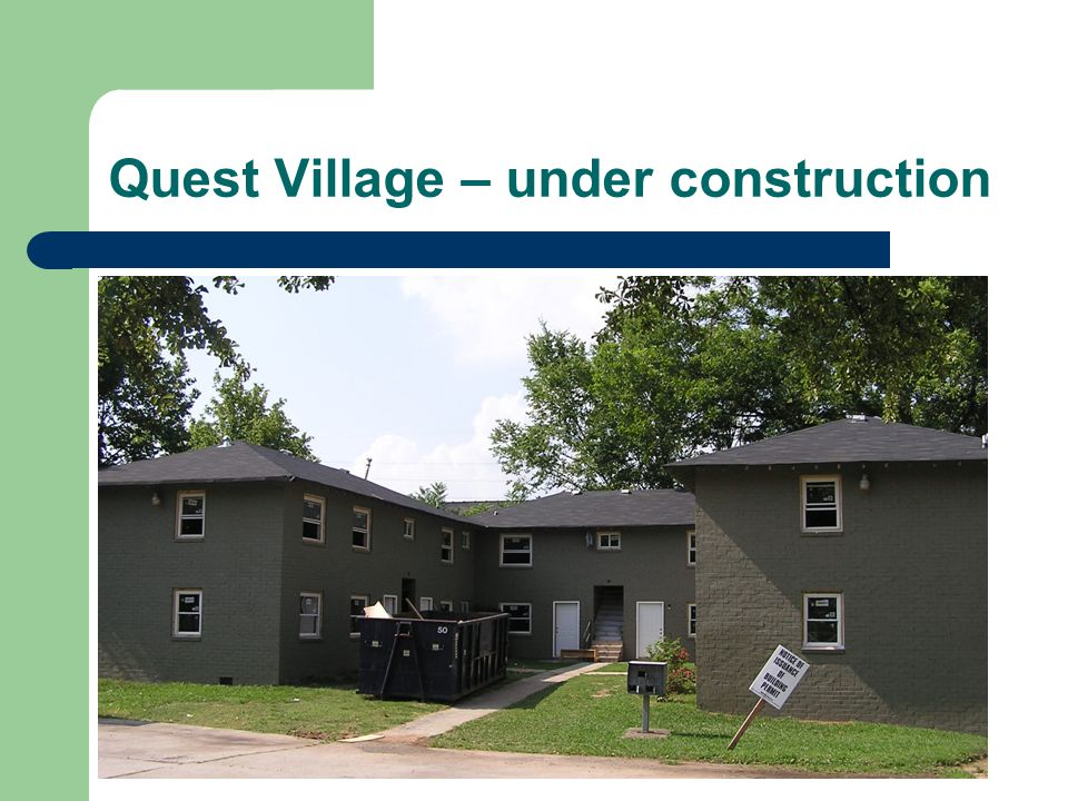 Quest Village – under construction