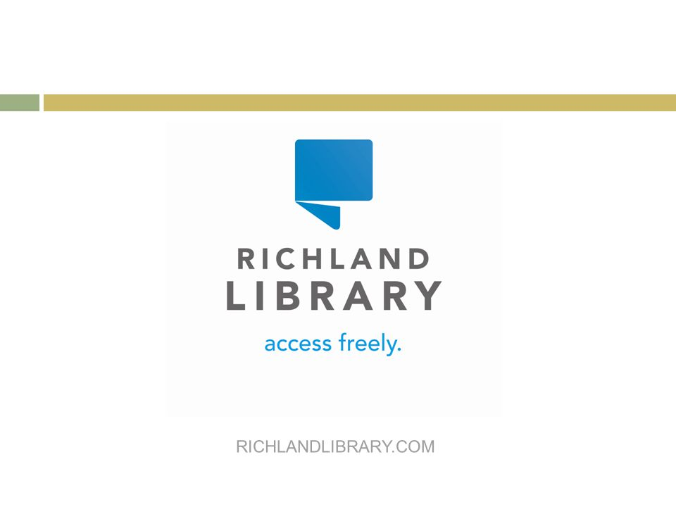 RICHLANDLIBRARY.COM